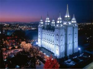 mormon temple in Salt Lake City