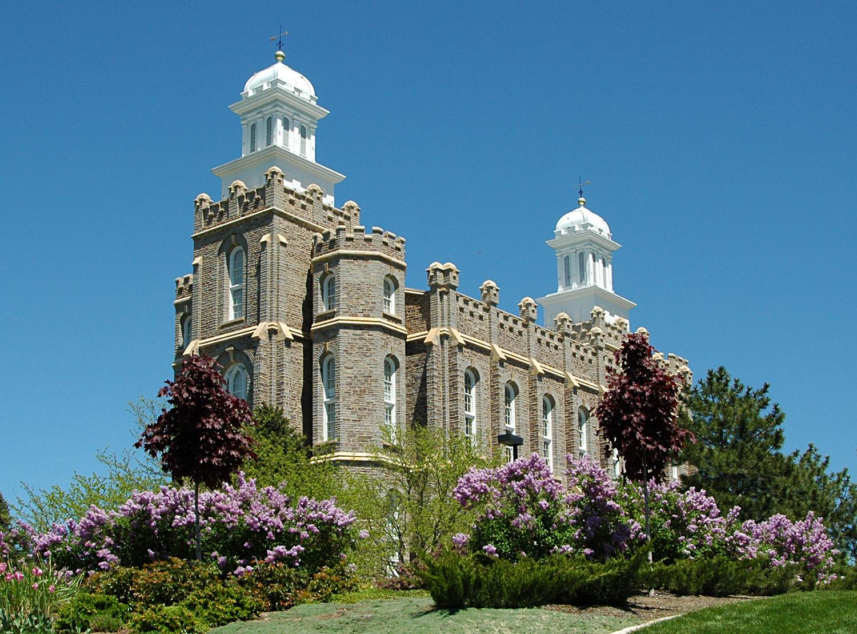 Logan Utah Mormon Temple