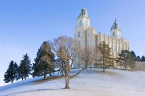 Manti Utah Mormon Temple