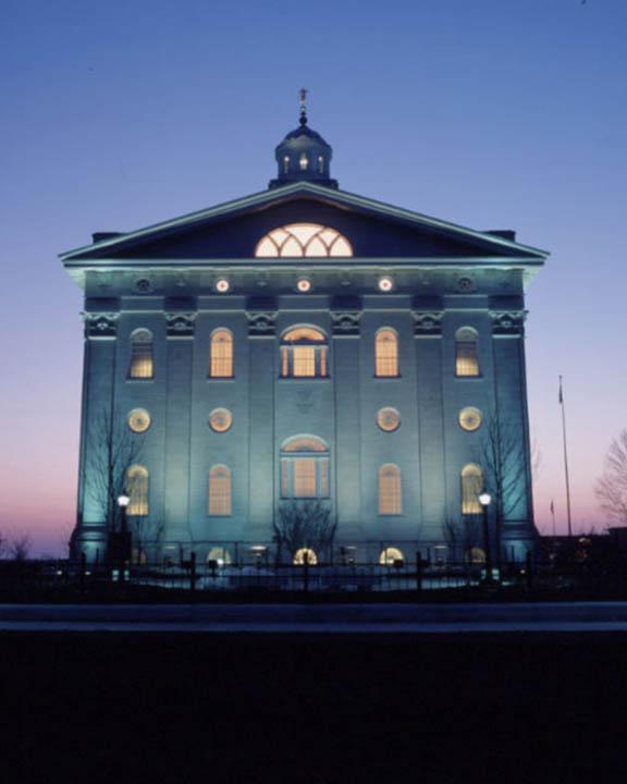 Mormon Temple Nauvoo Illinois