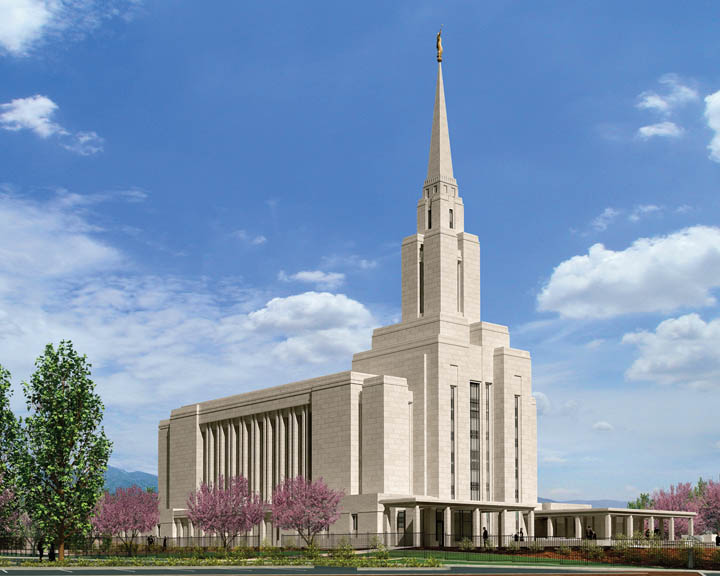 Oquirrh Mountain Utah Mormon Temple
