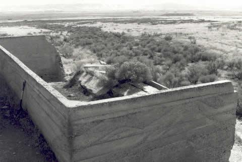 Broken Cistern in Clarion, Utah mormon