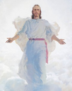 Painting of Jesus Christ during the Second Coming.