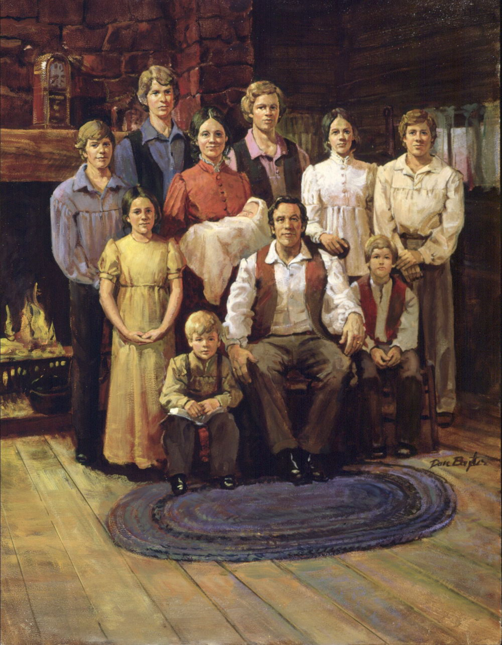 Joseph Smith Family Portrait