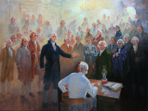 Wilford Woodruff's vision of the founding fathers in the St. George Temple