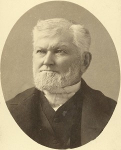 Portrait of the Mormon Prophet Wilford Woodruff