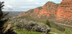 Mormon Trail Echo Canyon