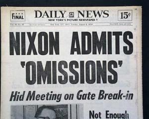 Nixon Omits Omissions
