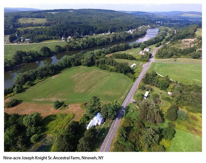 Joseph Knight Farm Aerial