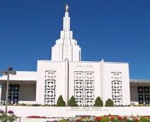 Idaho Falls Mormon Temple